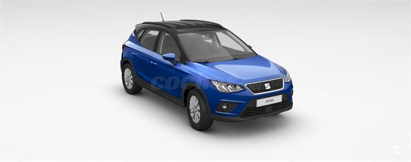 seat arona 4x4 1 0 tsi 85kw 115cv style ecomotive gasolina de nuevo de color azul azul mistery. Black Bedroom Furniture Sets. Home Design Ideas
