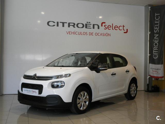 citroen c3 bluehdi 55kw 75cv ss live diesel blanco banquise del 2017 con 15300km en asturias. Black Bedroom Furniture Sets. Home Design Ideas