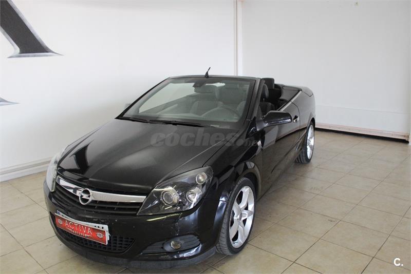 Opel Astra Twin Top 19 Cdti Cosmo Diesel Negro Negro Del 2007 Con