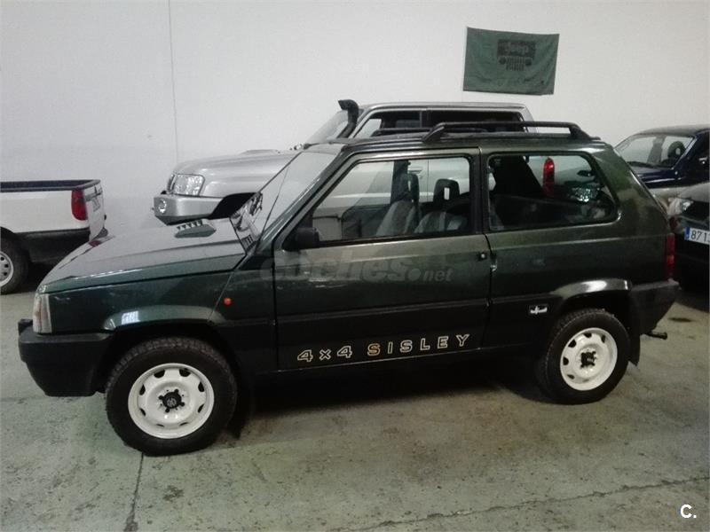fiat panda 1 1 4x4 gasolina verde del 1998 con 105000km en le n 35019775. Black Bedroom Furniture Sets. Home Design Ideas