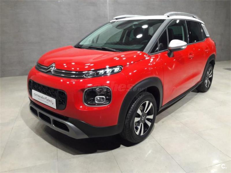 citroen c3 aircross 4x4 puretech 96kw 130cv ss feel gasolina de color rojo rojo del a o 2018. Black Bedroom Furniture Sets. Home Design Ideas