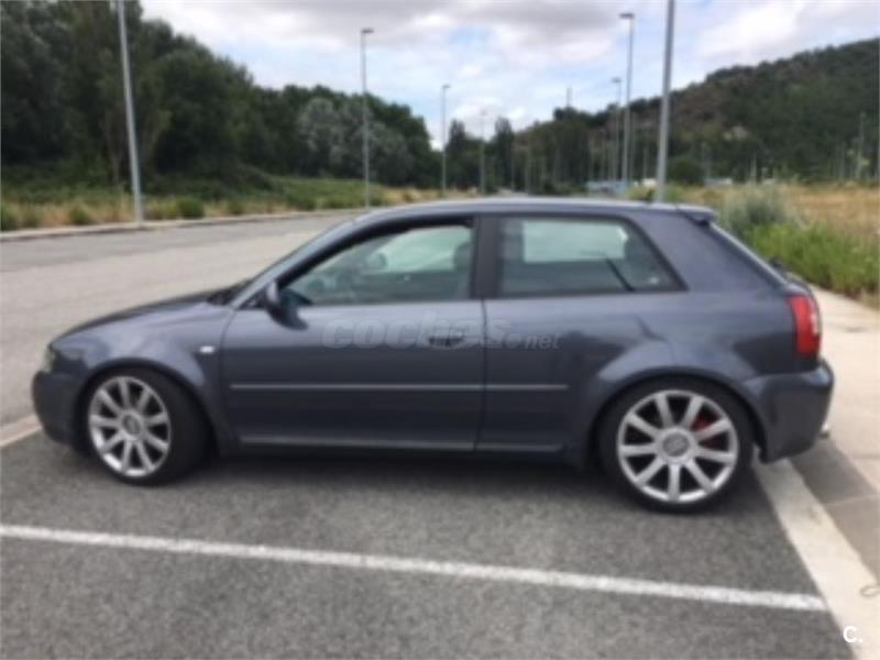 Audi S3 18 T Quattro Gasolina Gris Plata 6 Del 2000 Con