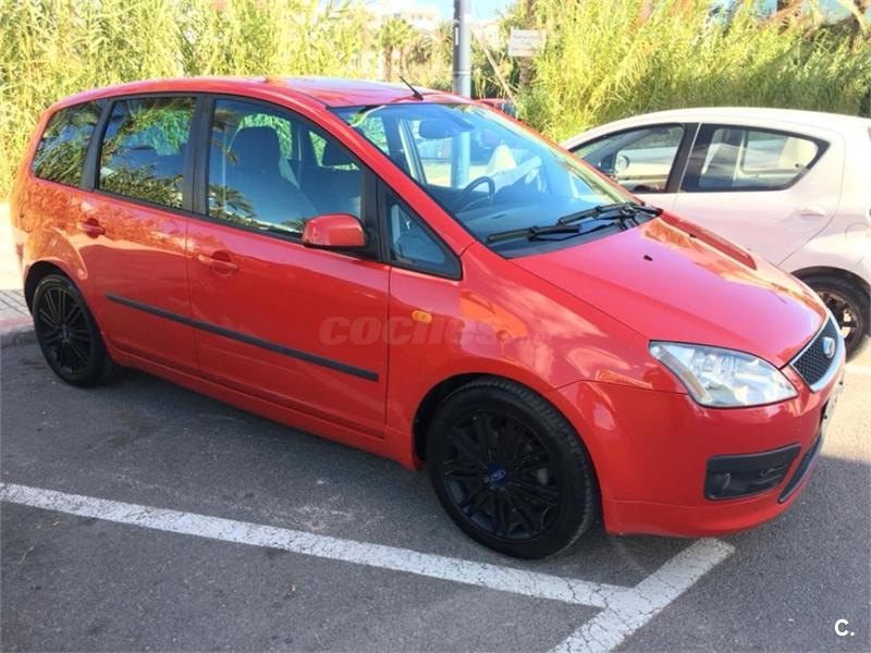 ford focus c max 1 6 tdci 90 trend diesel rojo 10 del 2005 con 189000km en baleares 35268844. Black Bedroom Furniture Sets. Home Design Ideas