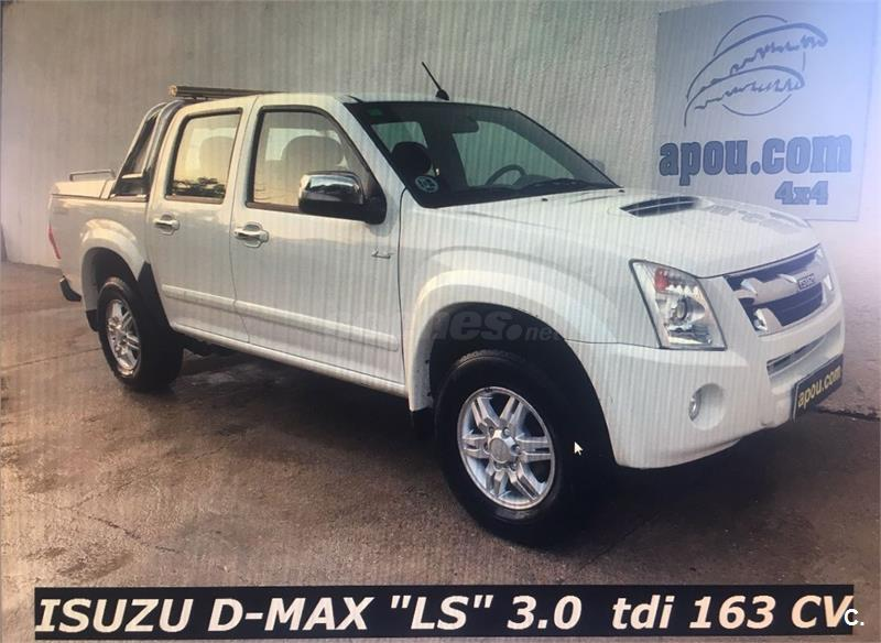 isuzu dmax pick up 4x4 crew 3.0 ls diesel de color blanco (blanco