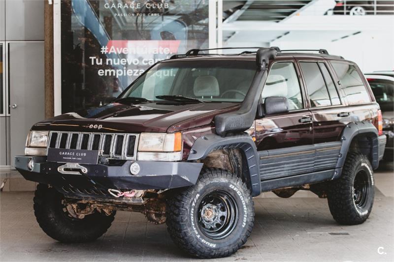 jeep grand cherokee 4x4 4.0 laredo gasolina de color granate