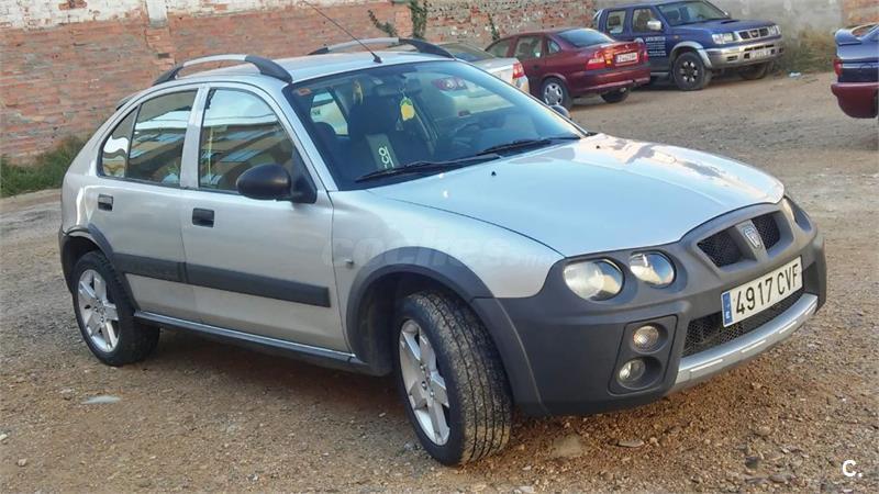 Rover Streetwise 20 D Se Diesel Gris Plata Del 2003 Con 154000km
