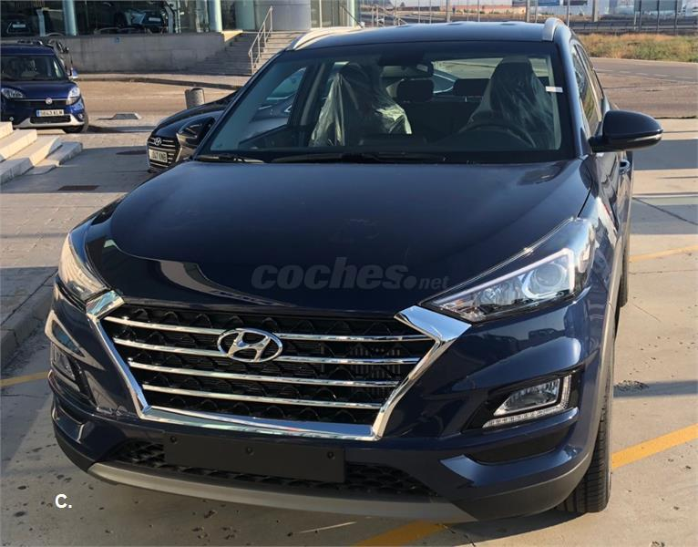 Hyundai Tucson 4x4 1 6 Tgdi Klass 4x2 Gasolina De Km0 De Color Azul