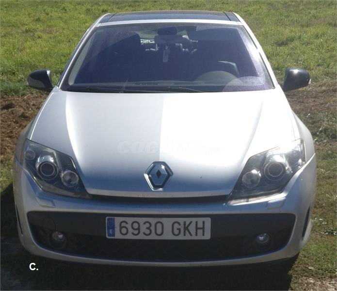 Renault Laguna Gt 20dci 180cv 4rd Diesel Gris Plata Del 2009 Con