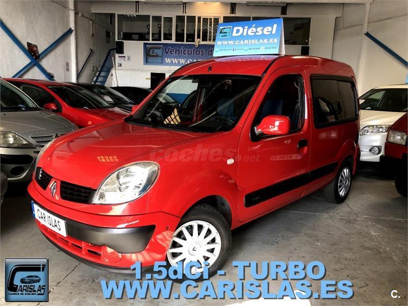 Renault Kangoo Be Bop 15dci 105cv Diesel Rojo Rojo Del 2009 Con
