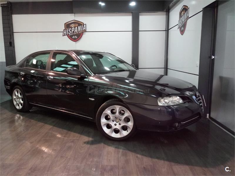 Alfa Romeo 166 25 V6 Distinctive Gasolina Negro Del 2004 Con
