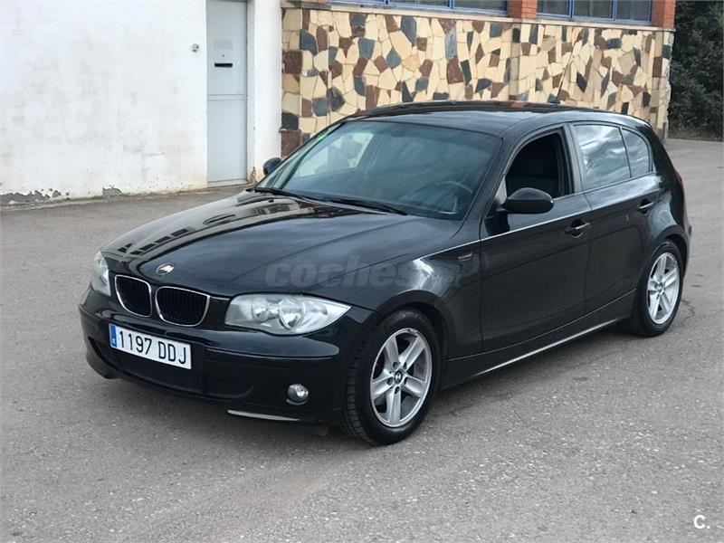 bmw serie 1 120d diesel negro del 2005 con 450000km en barcelona 35783113. Black Bedroom Furniture Sets. Home Design Ideas