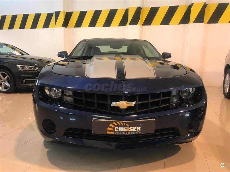 Chevrolet Camaro Coupe Auto Gasolina Azul Azul Del 2012 Con