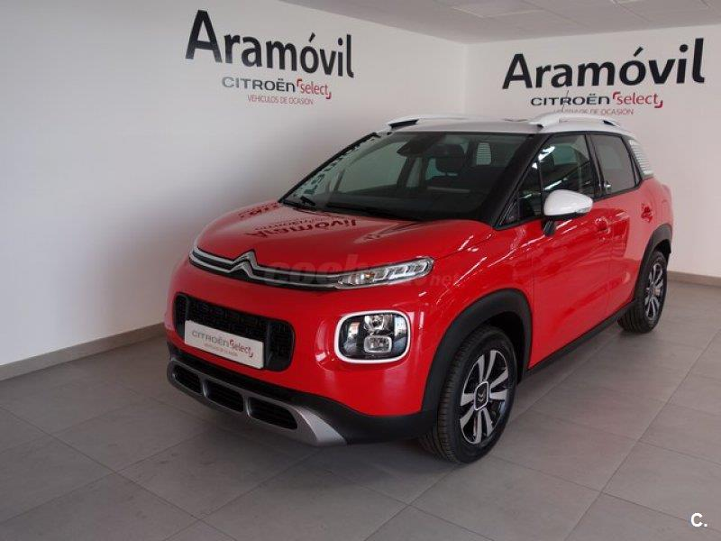 citroen c3 aircross 4x4 bluehdi 73kw 100cv feel diesel de km0 de color rojo pasi n s lido. Black Bedroom Furniture Sets. Home Design Ideas