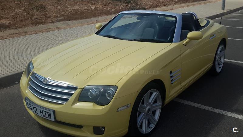 Chrysler Crossfire 3 2 Limited Cabrio Auto Gasolina Amarillo