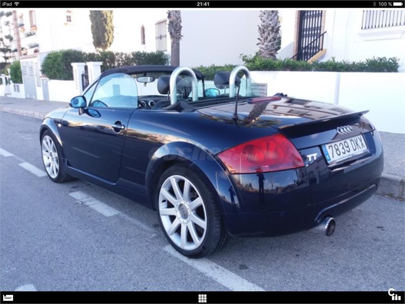 Audi Tt Roadster 18 T 180cv Gasolina Azul Azul Del 2003 Con