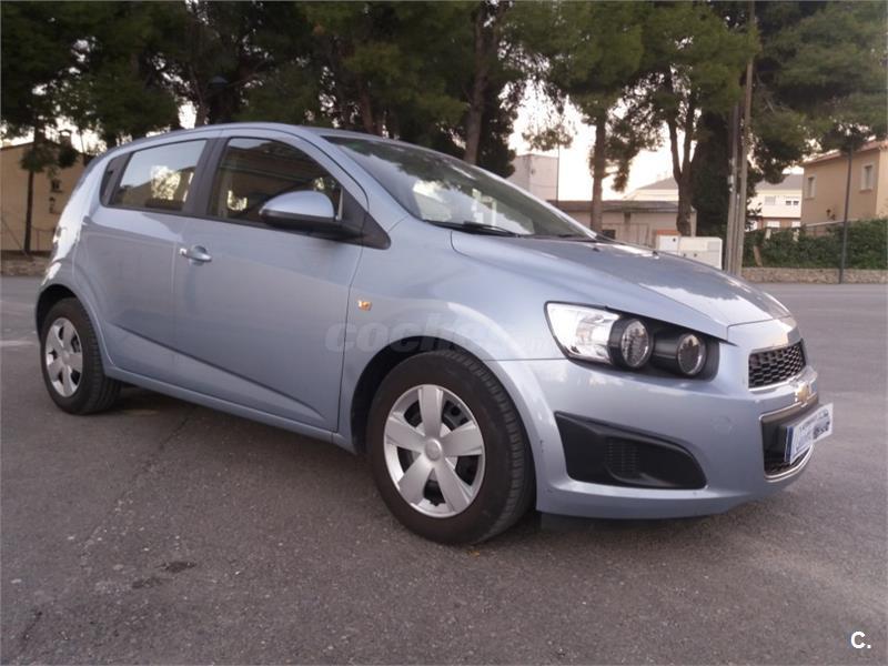 Chevrolet Aveo 14 Lt Gasolina Azul Azul Del 2012 Con 100000km En