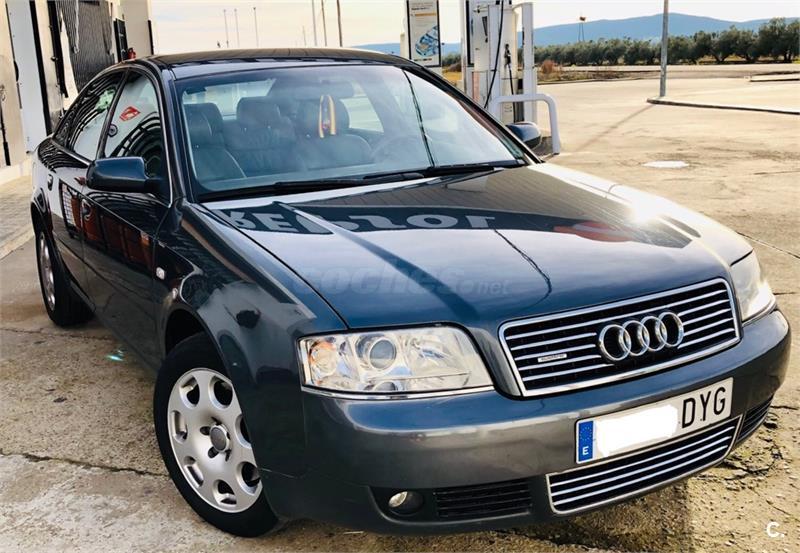 Audi A6 25 Tdi 180cv Quattro Diesel Gris Plata Del 2003 Con