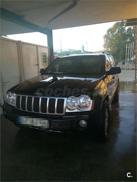 jeep grand cherokee 4x4 3.0 v6 crd overland diesel de color negro