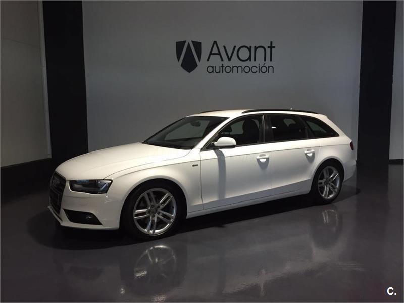audi a4 avant 2.0 tdi 143cv diesel blanco (blanco) del 2012 con