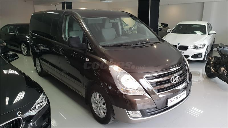hyundai h1 travel 2.5 crdi 125kw 170cv tecno nav auto diesel negro