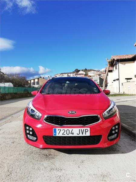 kia ceed sportswagon 1.6 crdi vgt 136cv gt line diesel rojo (rojo