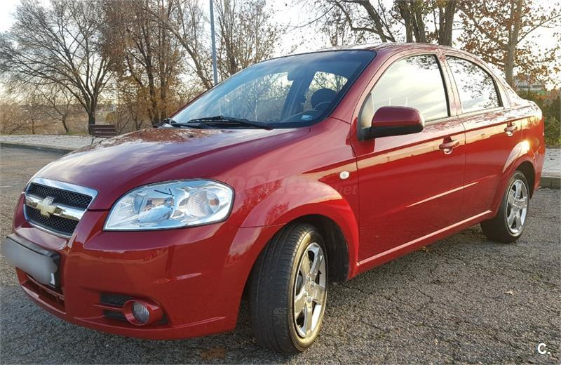 Chevrolet Aveo 14 16v Lt Gasolina Granate Granate Del 2008 Con