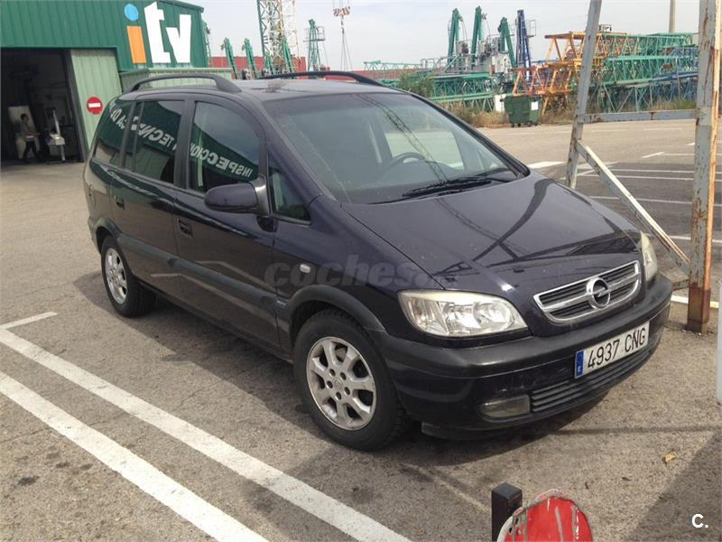 Opel Zafira 22 Dti 16v Elegance Diesel Negro Negro 9 Del 2003