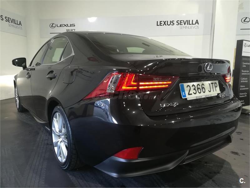 lexus is 2.5 300h executive eléctrico / híbrido negro (negro (negro