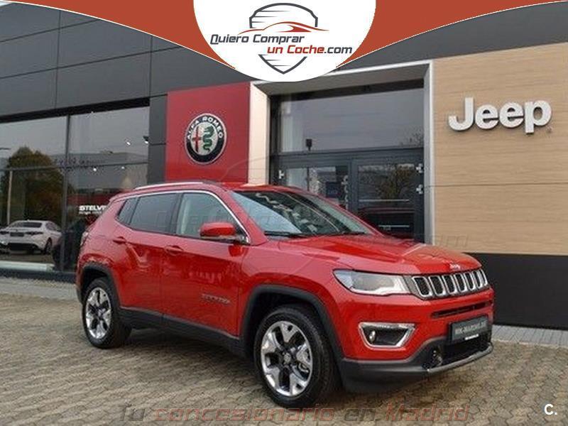 jeep compass 4x4 1.4 mair 125kw limited 4x4 atx gasolina de km0 de