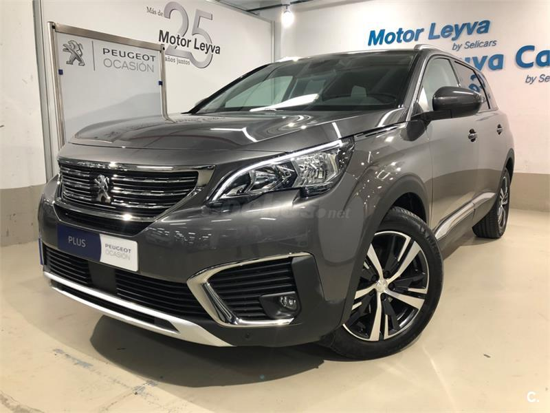 peugeot 5008 4x4 allure bluehdi 96kw 130cv ss diesel de color gris plata gris plata. Black Bedroom Furniture Sets. Home Design Ideas