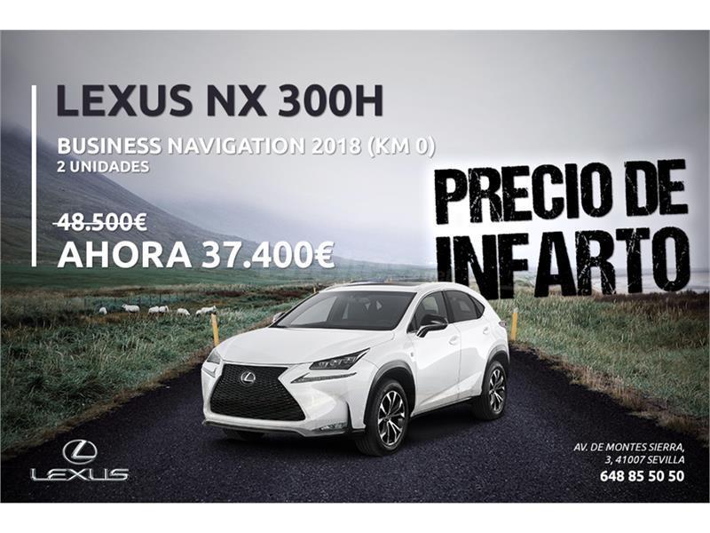 lexus nx 4x4 2.5 300h business navigation 2wd eléctrico / híbrido de