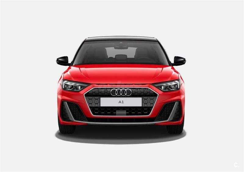 Audi A1 Sportback S Line 2019 Rojo