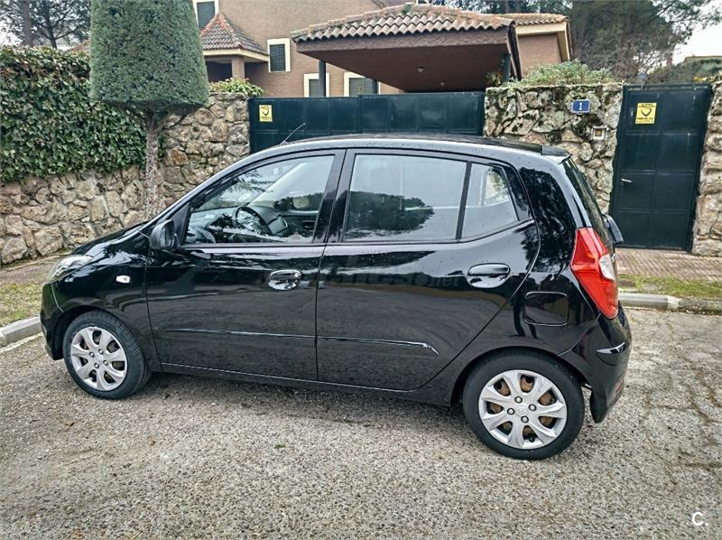 Hyundai I10 1 2 Comfort Gasolina Negro Negro Del 2013 Con 98000km
