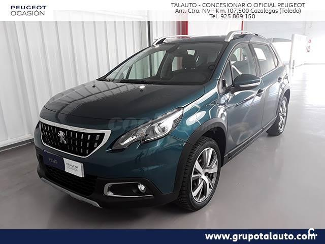 peugeot 2008 4x4 allure 1 2 puretech 81kw 110cv ss gasolina de color verde verde emerald. Black Bedroom Furniture Sets. Home Design Ideas