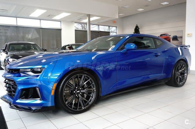 Chevrolet Camaro Coupe Auto Gasolina Azul Azul Del 2015 Con 5816km