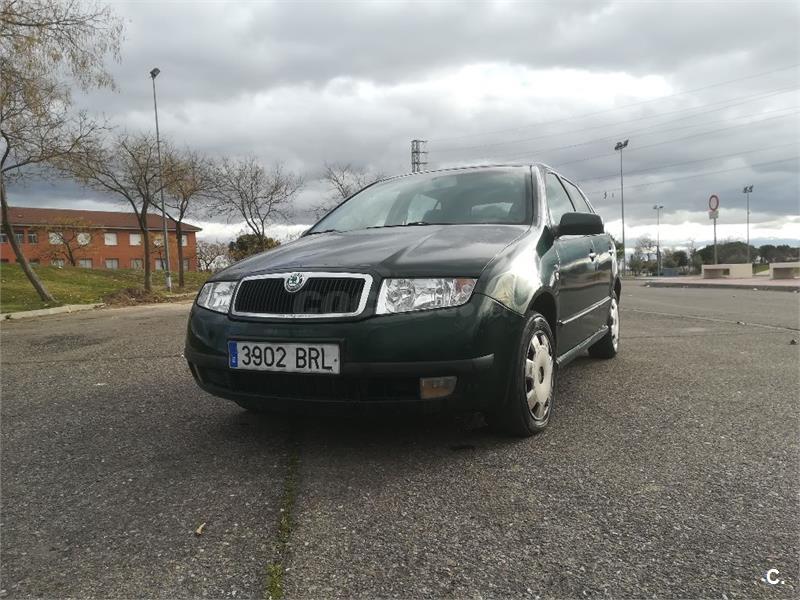 skoda fabia 1.4 classic 68 cv gasolina verde (verde (12)) del 2001