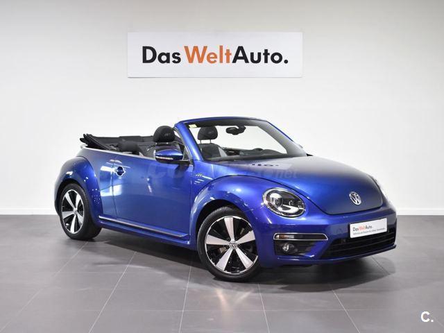 volkswagen beetle cabrio 1 4 tsi 160cv rline gasolina azul azul 0a rh coches net