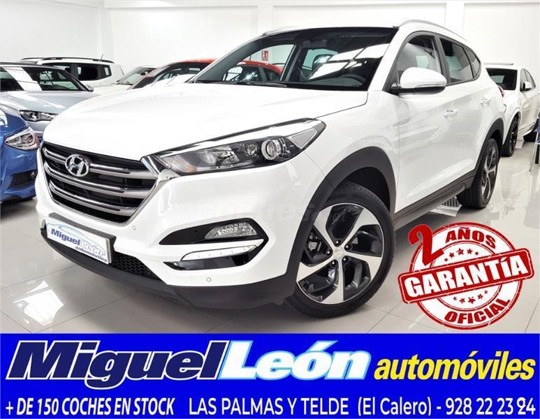 HYUNDAI tucson 4x4 1.6 tgdi style dt 4x4 Gasolina de color Blanco (Blanco)  del año 2016 con 19995km en Las Palmas 37274836 eee9ebfa02