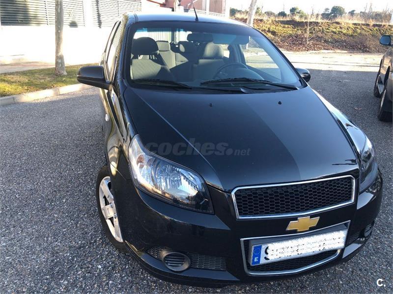 Chevrolet Aveo 12 Ls Gasolina Negro Negro 9 Del 2012 Con
