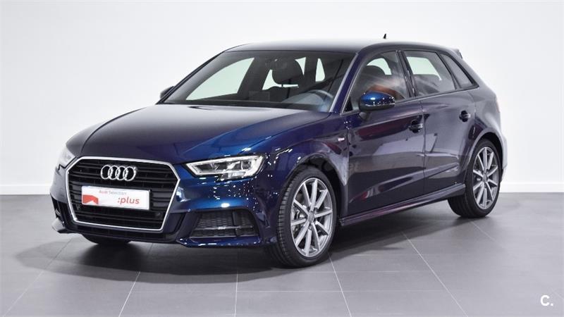 Audi A3 S Line 30 Tfsi 85kw S Tronic Sportback Gasolina Azul Azul