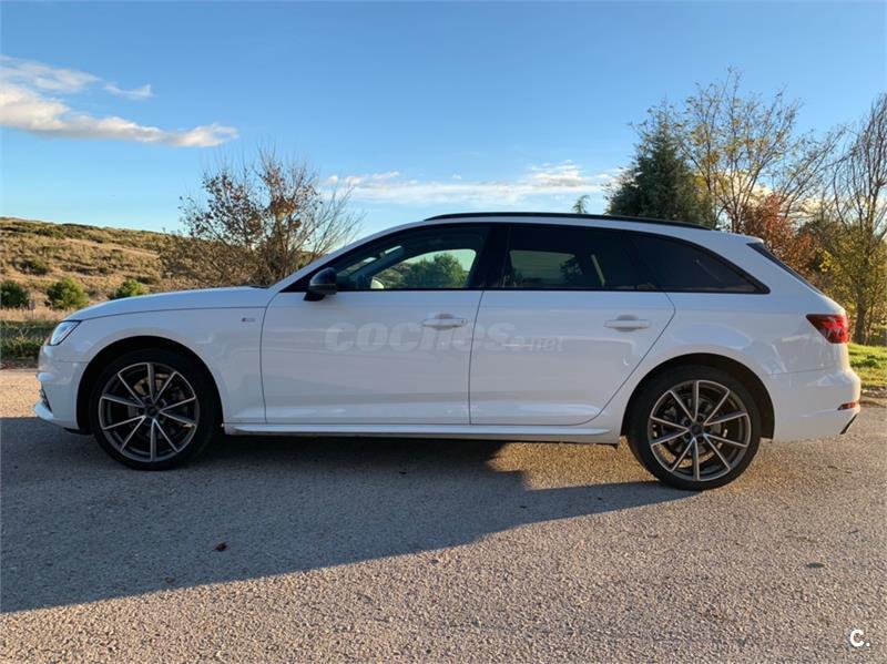 Audi A4 Avant 20 Tfsi Ultra S Tronic Black Line Gasolina Blanco