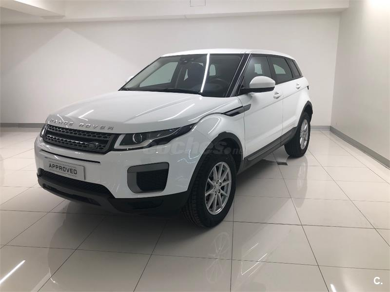 land rover range rover evoque 4x4 ed4 diesel 110kw 150cv 4x2 pure diesel de color blanco. Black Bedroom Furniture Sets. Home Design Ideas