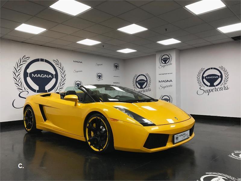 Lamborghini Gallardo Spyder Gasolina Amarillo Giallo Midas Met