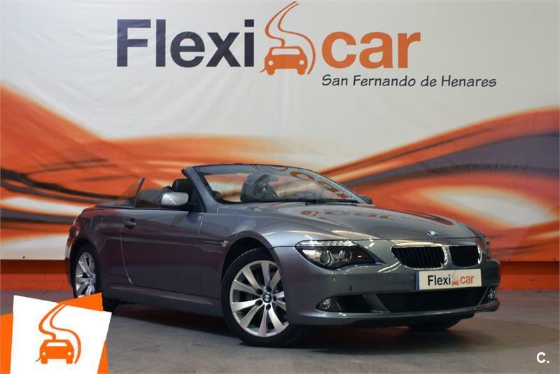 4214a56c BMW serie 6 635d Diesel Gris / Plata del 2009 con 120000km en Madrid  39341615