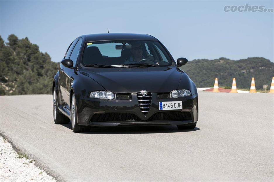 Alfa Romeo Giulia Quadrifoglio en pista
