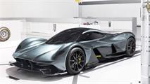 Newey desvela detalles del Aston AM-RB 01