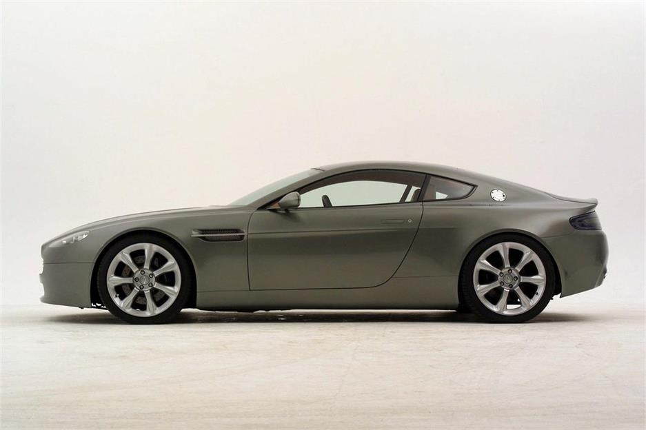 Aston Martin Vantage, primer teaser