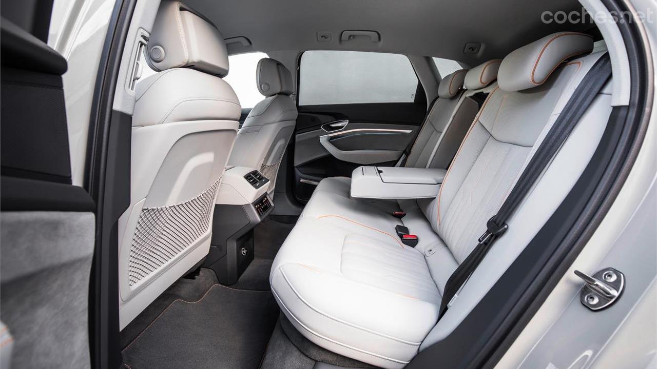 Audi e-tron: Imágenes del interior