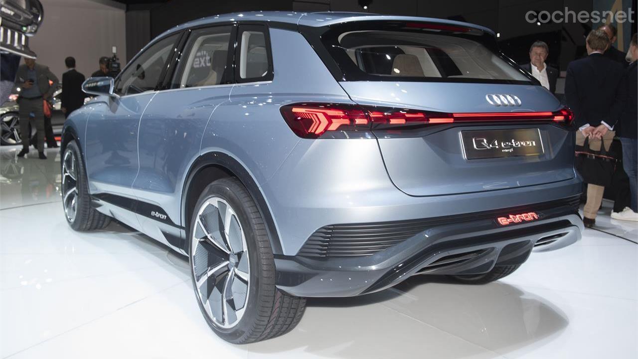 Audi Q4 e-tron concept, SUV eléctrico