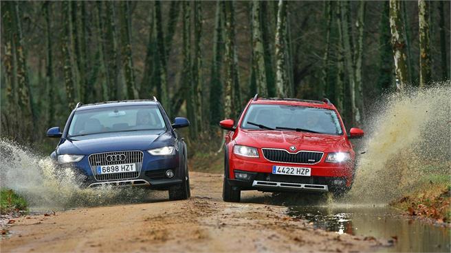 Audi A4 allroad vs Skoda Scout